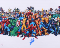 "Stan Lee Signed ""Marvel"" 16x20 Photo (PSA COA) at PristineAuction.com"