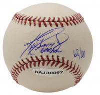 """Ken Griffey Jr. Signed LE OML Baseball Inscribed """"500 HR"""" (UDA COA & MLB Hologram) at PristineAuction.com"""