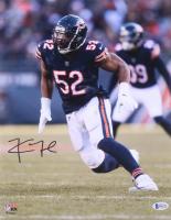 Khalil Mack Signed Chicago Bears 11x14 Photo (Beckett COA) at PristineAuction.com