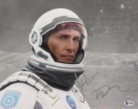 "Matthew McConaughey Signed ""Interstellar"" 11x14 Photo (Beckett COA) at PristineAuction.com"