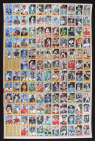 Uncut Sheet of (132) 1987 Topps Baseball Cards with #320 Barry Bonds RC at PristineAuction.com