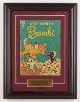 """Vintage 1948 """"Walt Disney's Bambi"""" Issue #186 Custom Framed Dell Comic Book at PristineAuction.com"""