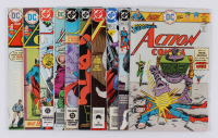 "Lot of (10) 1974-2000 ""Superman's Action Comics"" #431-#765 DC Comic Books at PristineAuction.com"