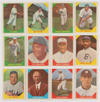 Lot of (12) 1960 Fleer Baseball Cards with #26 Bob Feller, #47 Cy Young, #14 Connie Mack at PristineAuction.com