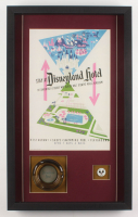 Disneyland 16.5x27x2 Custom Framed Shadowbox Display with Ashtray & Pin at PristineAuction.com