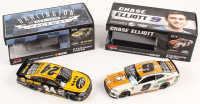 Lot of (2) Chase Elliott LE 1:24 Scale Die Cast Cars with Signed #9 Mountain Dew Little Caesars 2019 Camaro ZL1 Autographed & #24 Napa Darlington Napa DC Program 2016 SS (RCCA COA) at PristineAuction.com