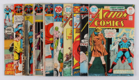 "Lot of (10) 1970-76 ""Action Comics"" #389-#457 DC Comic Books at PristineAuction.com"