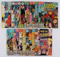 """Lot of (24) 1972-85 """"The Flash"""" #218-#350 DC Comic Books at PristineAuction.com"""