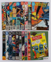 "Lot of (18) 1961-2001 ""Detective Comics"" #294-#606 DC Comic Books at PristineAuction.com"