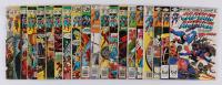 "Lot of (20) 1971-75 ""Captain America"" #115-#273 Marvel Comic Books at PristineAuction.com"