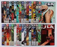 "Lot of (34) 1997-2005 ""JLA"" #3-#121 DC Comic Books at PristineAuction.com"