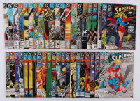 """Lot of (43) 1985-1994 """"Action Comics"""" #563-#699 DC Comic Books at PristineAuction.com"""