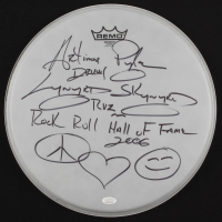Artimus Pyle Signed Drum Head with Multiple Inscriptions (JSA COA) at PristineAuction.com
