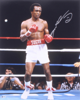 Sugar Ray Leonard Signed 16x20 Photo (Beckett COA) at PristineAuction.com