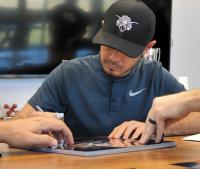 Kyle Larson Signed NASCAR 11x14 Photo (PA COA) at PristineAuction.com