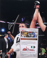 Nate Diaz Signed UFC 8x10 Photo (Sports Integrity COA) at PristineAuction.com