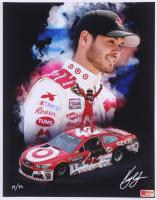 Kyle Larson Signed LE NASCAR 11x14 Photo #/42 (PA COA) at PristineAuction.com