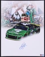 Kyle Larson Signed NASCAR 11x14 Photo (PA COA) at PristineAuction.com