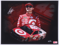 Kyle Larson Signed LE NASCAR 11x14 Photo #/42 (PA COA) at PristineAuction.com