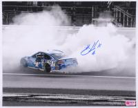 Kevin Harvick Signed NASCAR - Burnout - 11x14 Photo (PA COA) at PristineAuction.com