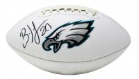 Brian Dawkins Signed Eagles Logo Football (JSA COA) at PristineAuction.com