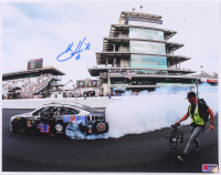 Kevin Harvick Signed 2019 NASCAR Indianapolis - Brickyard 400 Win - 11x14 Photo (PA COA) at PristineAuction.com
