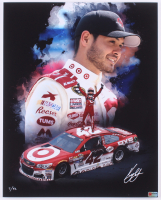 Kyle Larson Signed LE NASCAR 16x20 Photo #/42 (PA COA) at PristineAuction.com
