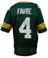 "Brett Favre Signed Green Bay Packers Jersey Inscribed ""SB XXXI Champs!"" (Favre COA) at PristineAuction.com"