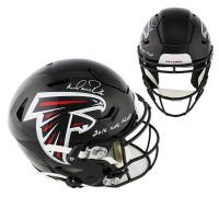 "Matt Ryan Signed Atlanta Falcons Full-Size Authentic On-Field SpeedFlex Helmet Inscribed ""2016 NFL MVP""(Fanatics Hologram) at PristineAuction.com"
