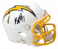 Keenan Allen Signed Los Angeles Chargers Speed Mini Helmet (Beckett COA) at PristineAuction.com