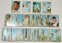 Lot of (185) 1970 Topps Baseball Cards with #434 Felipe Alou, #364 Dan McGinn, #442 Gene Mauch, #338 Paul Schaal at PristineAuction.com
