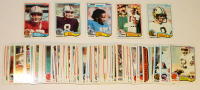 Lot of (79) 1982 Topps Football Cards with #478 Dwight Clark, #188 Ray Guy, #349 Billy Sims All Pro, #149 Steve Grogan, #408 Archie Manning at PristineAuction.com