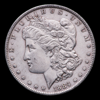 1884-O Morgan Silver Dollar at PristineAuction.com