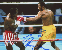 "Sugar Ray Leonard & Thomas ""Hitman"" Hearns Signed 8x10 Photo (PSA COA) at PristineAuction.com"