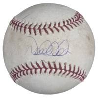 Derek Jeter Signed 2006 Game Used OML Baseball (Steiner COA & MLB Hologram) at PristineAuction.com