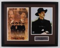 "Val Kilmer Signed ""Tombstone"" 23x29 Custom Framed Photo Display (Beckett Hologram) at PristineAuction.com"