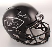 Tyreek Hill Signed Kansas City Chiefs Full-Size Matte Black Speed Helmet (JSA COA) at PristineAuction.com