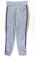 Robin Yount Signed 1991 Milwaukee Brewers Game-Used Jersey & Pants (Mears LOO & JSA ALOA) at PristineAuction.com