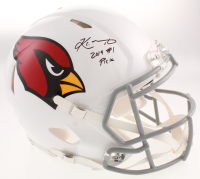 """Kyler Murray Signed Arizona Cardinals Full-Size Authentic On-Field Speed Helmet Inscribed """"2019 #1 Pick"""" (JSA COA) at PristineAuction.com"""
