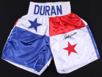 Roberto Duran Signed Panama Boxing Trunks (JSA COA) at PristineAuction.com
