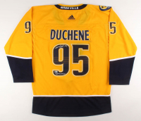 "Matt Duchene Signed Nashville Predators Jersey Inscribed ""Smashville"" (Beckett Hologram) at PristineAuction.com"