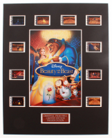 "Disney's ""Beauty and the Beast"" LE 8x10 Custom Matted Original Film / Movie Cell Display at PristineAuction.com"