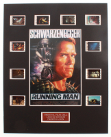 """""""Running Man"""" LE 8x10 Custom Matted Original Film / Movie Cell Display at PristineAuction.com"""