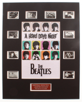 """""""The Beatles: A Hard Day's Night"""" LE 8x10 Custom Matted Original Film / Movie Cell Display at PristineAuction.com"""