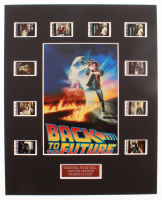 """Back To The Future"" LE 8x10 Custom Matted Original Film / Movie Cell Display at PristineAuction.com"