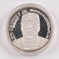 1 Ounce LE 1998 Ken Griffey Jr. .999 Fine Silver Commemorative Coin at PristineAuction.com