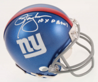 "Lawrence Taylor Signed Giants Mini-Helmet Inscribed ""10x P Bowl"" (JSA COA) at PristineAuction.com"