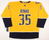 Pekka Rinne Signed Nashville Predators Jersey (Beckett COA) at PristineAuction.com