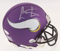 Cris Carter Signed Minnesota Vikings Mini Helmet (JSA COA) at PristineAuction.com