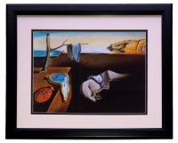 "Salvador Dali ""The Persistence of Memory"" 18x20 Custom Framed Print Display at PristineAuction.com"